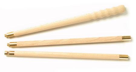 Dřevěný vytěrák pro brokovnice